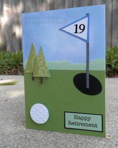 retirement card.  http://scrapperatheart.wordpress.com/2012/04/03/retirement-card/