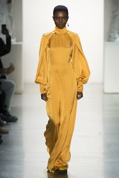 The complete Pyer Moss Fall 2018 Ready-to-Wear fashion show now on Vogue Runway.