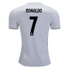 18 19 Cristiano Ronaldo Jersey Number 7 Home Men s Replica Real Madrid Team Cristiano  Ronaldo 7df707033
