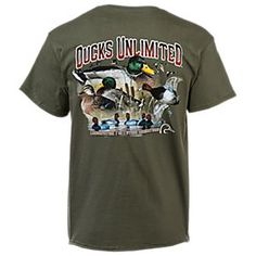 Ducks Unlimited Feathered Frenzy T-Shirt for Men | Bass Pro Shops