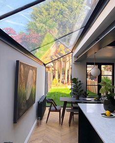 30 creatively industrial interior design ideas for house or office 15 « A Virtual Zone House Extension Design, Extension Designs, Glass Extension, Extension Ideas, Kitchen Diner Extension, Kitchen Extension Terraced House, Open Plan Kitchen Living Room, Industrial Interior Design, London House