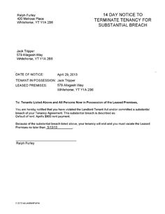 termination of lease letter templates