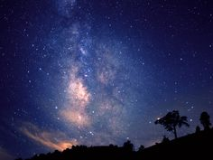 美しい星空ー阿智村・昼神温泉
