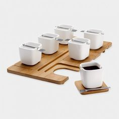 Gorgeous espresso set via Food Republic, perfect for an afternoon Armenian coffee.