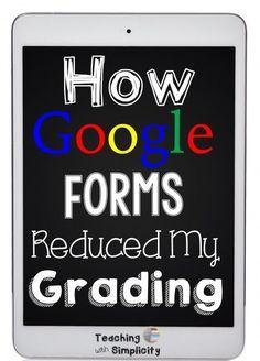 How goog forms reduced my grading -- Flubaroo Teacher Organization, Teacher Tools, Teacher Resources, Teacher Survival, Google Classroom, School Classroom, Classroom Ideas, Teaching Technology, Educational Technology