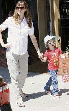 Jennifer Garner preferred Teva for her little angel.