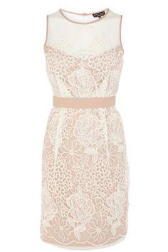 bridesmaids? ORGANZA EMBROIDERED TULIP DRESS