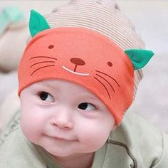 1ffbd11a924 Soft Cotton Kitty Hat A wonderful gift for your toddler. SPECIAL STOREWIDE  SALE! Save