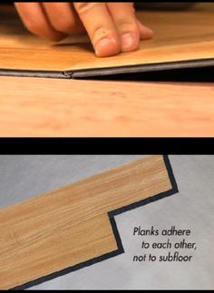 If you're thinking about installing resilient plank flooring, consider Allure and Allure Ultra. No nails or glue needed.