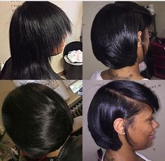 Hairstyles Step By Step Natural Haircut Pressed Natural Hair, Natural Hair Bob, Natural Hair Styles, Short Bob Hairstyles, Girl Hairstyles, Black Hairstyles, Relaxed Hairstyles, Everyday Hairstyles, Haircuts