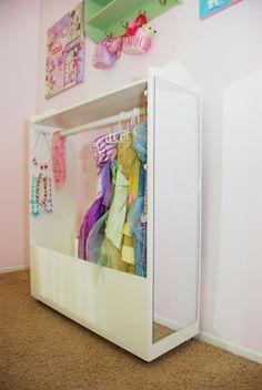 DIY dress up closet