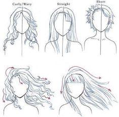 cabello liso vs ondulado y rizado