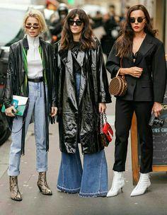 Paris Fashion Week street 2018