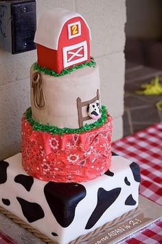 Love this cake for one of my boys birthday parties