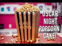 Image result for movie popcorn cake