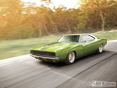 1968 Dodge Charger Rolling Shot Photo 1
