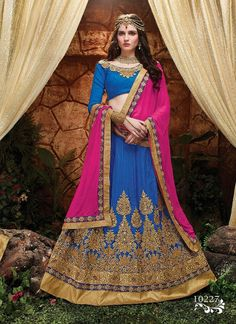 Latest Heavy Embroidery Lehenga For Bridal Free International Shipping, 30 Days Easy Return, Buy Designer Sarees, Embroidered sarees.