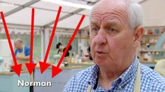 """His name is N-O-R-M-A-N. 