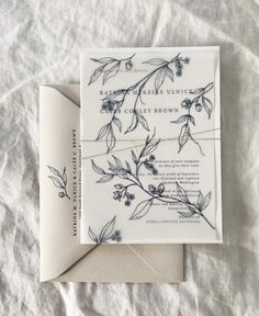 vintage ivory wedding party invitation with flower vellum envelope marriages wedding party weddingideas deerpearlflowers Ivory Wedding Invitations, Wedding Party Invites, Wedding Invitation Wording, Wedding Stationary, Wedding Paper, Wedding Cards, Flower Invitation, Party Invitations, Botanical Wedding Stationery