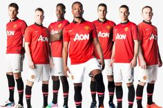 Manchester United have unveiled their new kit for the 2013-14 season