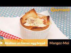 Oeufs bacon - recette rapide brunch - gourmand