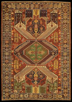 Caucasian Dragon Soumac rug, Antique Caucasian Dragon Soumac rugs and carpets