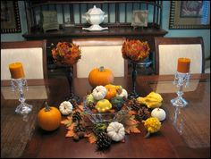 Fall--my favorite time of year to decorate