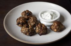 Lamb Meatballs and Freekeh Salad