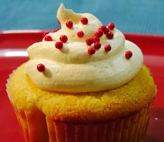 Yummy and cute Vanilla Cupcake are perfect for your birthday party.