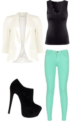 """""""Cute work outfit"""" by melissa-philbrick ❤ liked on Polyvore"""
