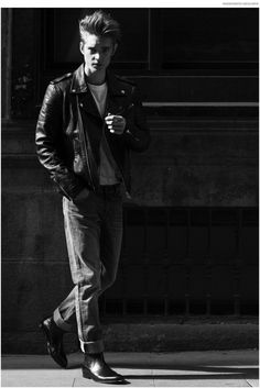 Diego Moncada Channels Modern James Dean
