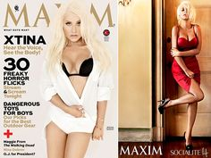 Christina Aguilera Shows Off Her Slimmed Down Figure For Maxim: http://sulia.com/my_thoughts/40e38729-e043-420b-802c-1dc8ee44ba98/?pinner=121377143& via @SOCIALITE LIFE