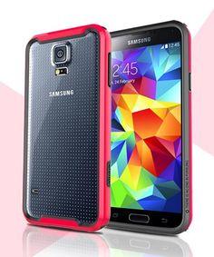 Nillkin Armor Frame Bumper Case Samsung Galaxy S5 Rood
