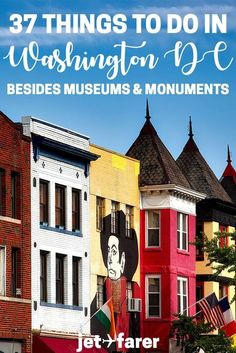 Washington DC travel: Are you planning a trip to Washington DC but don't want to spend the whole time at museums and monuments? Click through for a full list of offbeat things to do in Washington DC! places to go in washingto Viaje A Washington Dc, Washington Dc Vacation, Washington Dc With Kids, Washington Dc Restaurants, Visit Washington Dc, Us Road Trip, Road Trip Hacks, Dc Photography, Photography Workshops