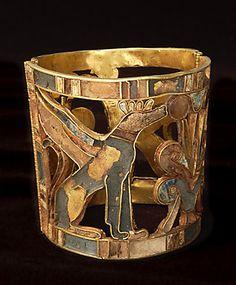 nouvel empire bague d esse lionne site officiel du mus e du louvre 2 egyptian jewelry. Black Bedroom Furniture Sets. Home Design Ideas