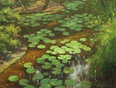Bill Farnsworth Lily-pads.jpg (1981×1500)