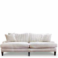 striped sofa // furbish
