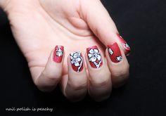 Mon Cheri, Nails, Beauty, Flowers, Finger Nails, Ongles, Beauty Illustration, Nail, Nail Manicure