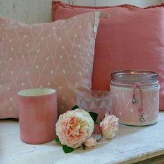 #fabrics #disign #pink #coral #pillow