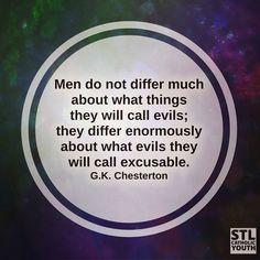 #quotes #GKChesterton #relativism
