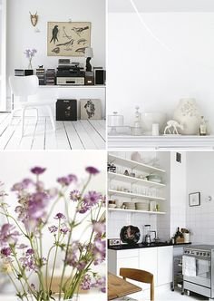 white with a bit of lilac by the style files, via Flickr