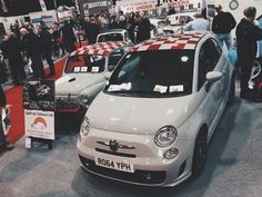 Abarth at Race Retro with Middle Barton Garage
