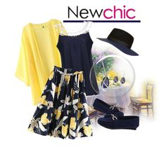 """""""NEWCHIC Contest"""" by teez-biz-nez ❤ liked on Polyvore featuring Topshop, chic, New and newchic"""