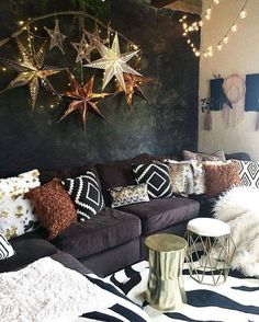 Eclectic Living Room, Living Room Interior, Living Room Designs, Living Room Decor, Bedroom Decor, Wall Decor, Decor Room, Bedroom Furniture, Diy Wall