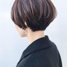 Asian Short Hair, Short Grey Hair, Girl Short Hair, Short Hair Cuts, Short Hair Styles, Choppy Bob Hairstyles, Bob Hairstyles For Fine Hair, Short Hairstyles For Women, Curled Hairstyles