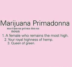 Marijuana Primadonna                                                                                                                                                                                 More
