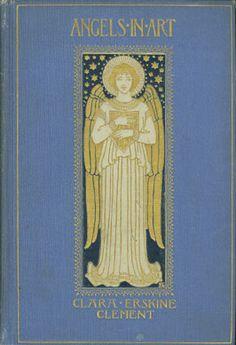 ≈ Beautiful Antique Books ≈ Angels in Art   1898