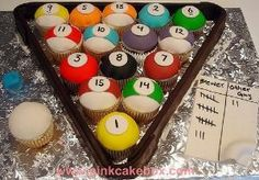 Neat idea for an adult guy's birthday cake. julio would like this by jan