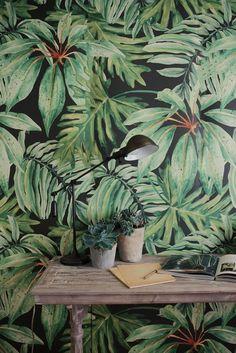 maison tapisserie miami tropical deco interieur - Recherche Google