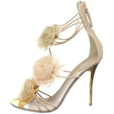 Amazon.com: Giuseppe Zanotti Women's E10131 Ankle-Strap Sandal,Cipria,40 M EU / 10 B(M): Shoes